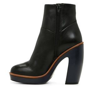 Aldo Cecille Leather Platform Boots
